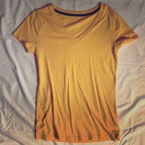 Relaxed Mustard Yellow Tee